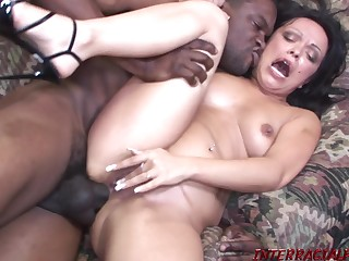 Mature Valentina Gives Up The Ass For Chunky BLACK MALE POLE - FORNICATE Motion picture