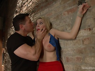 Three amateur girls try BDSM torture dungeon for the first time