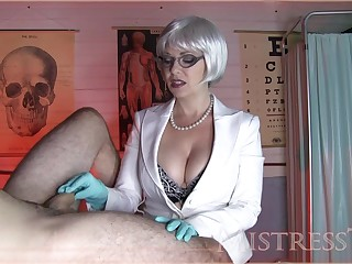 Addiction Mistress T Gives A Spot on target Hand  - mistress tangent