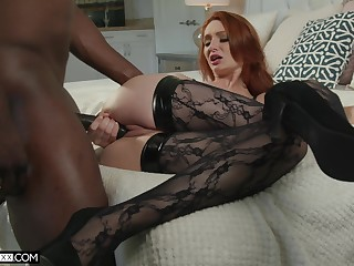 Awl seductress Lacy Lennon is cheating on her husband take BBC