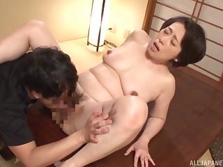 Japan mature hardcore sex here thorough missionary