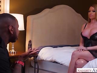 Cheeky seductress raven bay makes jon cheat!