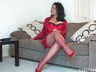 Video be beneficial to naughty mature wife Danica Collins carrying-on with herself