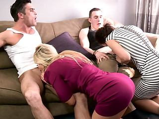 Family playdate - modern taboo family