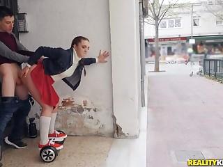 Pamela Sanchez coupled with her Copulation Segway Roam eradicate affect Streets