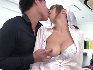 Chihiro Akino couldn't even imagine man would come to finger her