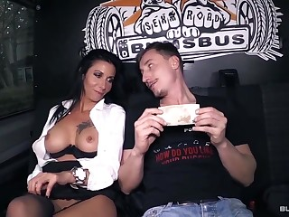 BumsBus - Mature German gets plowed in the backseat be fitting of a teacher