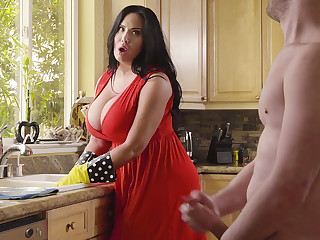 At near surfactant stepson plow his big-chested stepmom